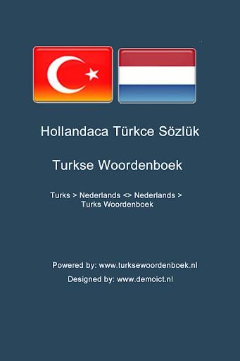 Hollandaca Türkçe Sözlük