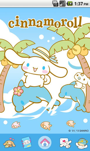 Cinnamoroll BlueDolphin Theme