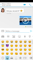 Screenshot of Messaging Plus #SMS #VideoChat