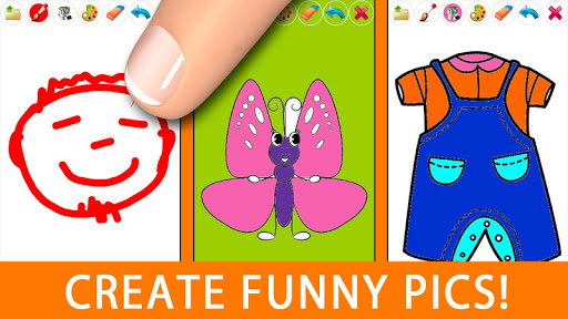 玩家庭片App|圖畫書 - 兒童塗鴉 - Painting for Kids免費|APP試玩