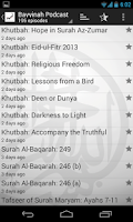Screenshot of Bayyinah Podcast