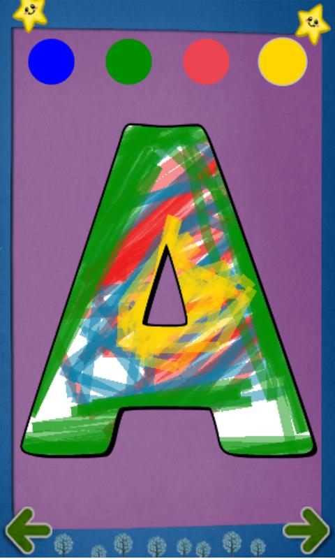 Alphabet Paint Lite for Kids - screenshot