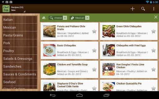 ChefTap Recipe App