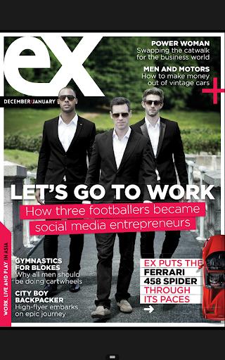 EX Interactive Magazine