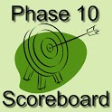 Phase 10 Scoreboard icon