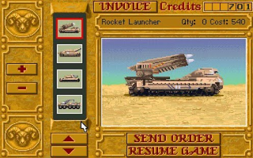 Dune 2 - screenshot thumbnail