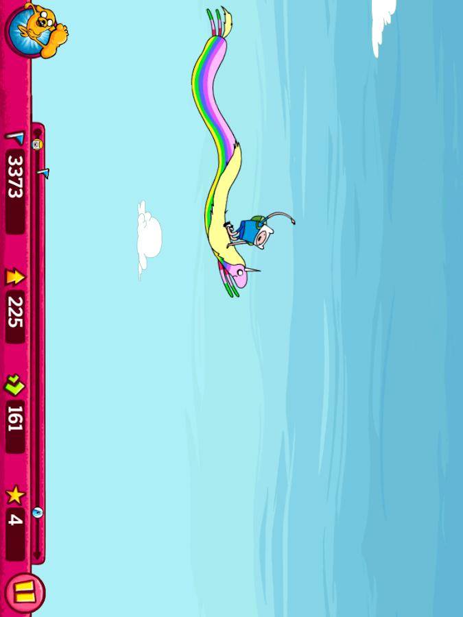 Super Jumping Finn - screenshot