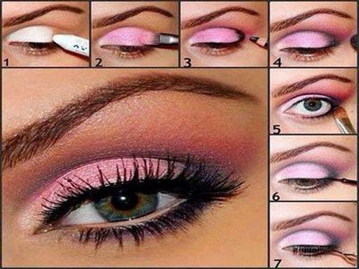 化妆你的眼睛逐步 pictures