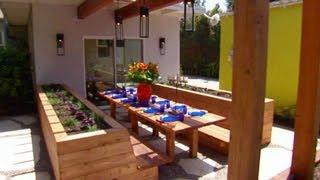 Modern Mexican Backyard