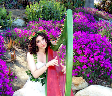 Helping Harps-- Therapeutic Harp Music Services & San Diego