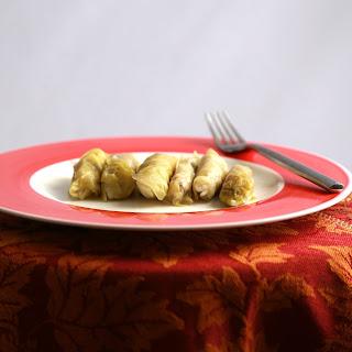 Malfouf bel Lahmeh (Stuffed Cabbage Rolls)