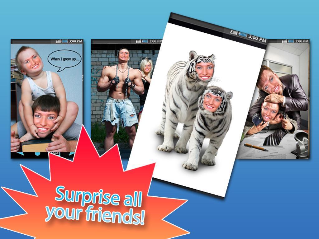 Funny Photo Studio - 2 Faces - screenshot