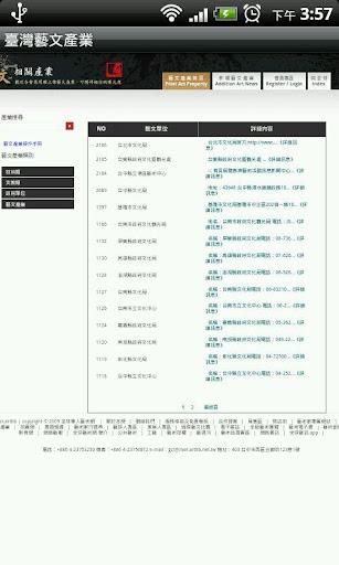 【免費生產應用App】臺灣藝文產業-APP點子