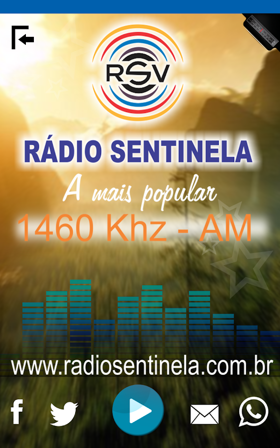 Sentinela do Vale 1460 AM- screenshot