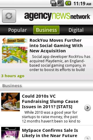 AgencyNews - screenshot