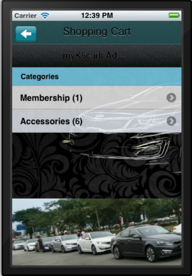 myK5club - screenshot