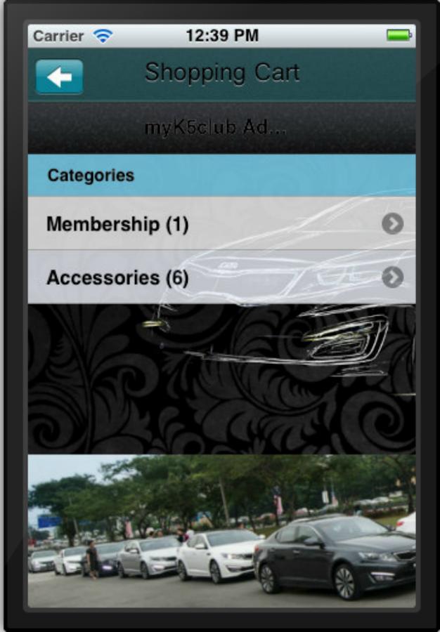 myK5club- screenshot