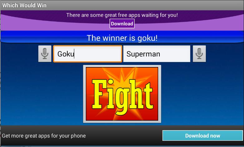 Which Would Win - screenshot