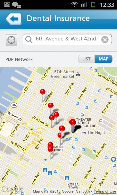 MetLife US App - screenshot