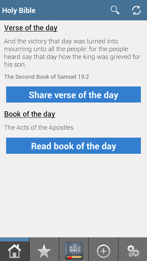 King James Bible FREE - screenshot