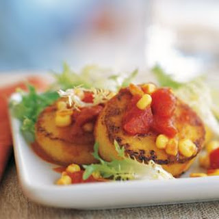 Polenta, Tomato and Corn Salad