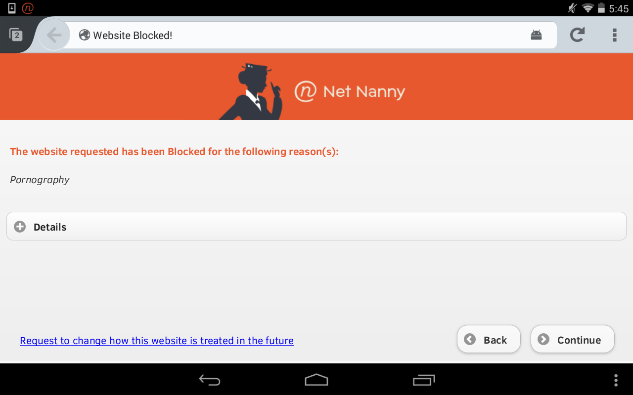 Net Nanny for Android- screenshot