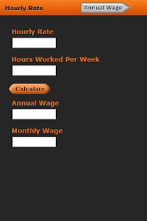 Salary Rate Calculator - screenshot thumbnail