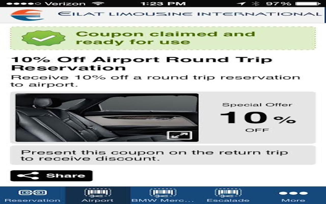 Eilat Limousine- screenshot