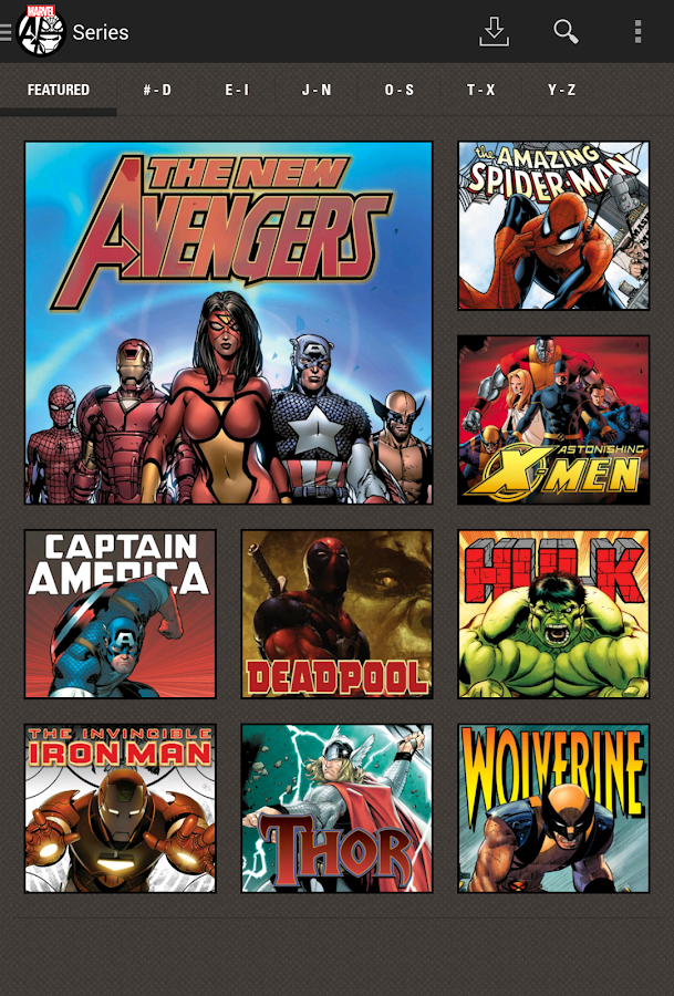 Marvel Comics - screenshot