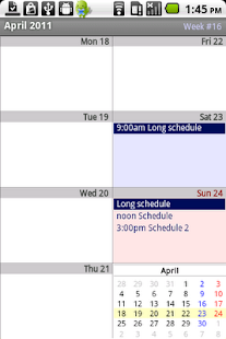 Calendar Pad - screenshot thumbnail