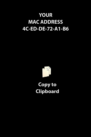 MAC Address finder