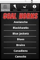 Screenshot of Hockey Goal Horns