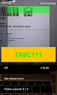 Eventjet Scanner- screenshot thumbnail