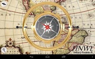 Screenshot of 3D Gyro Compass