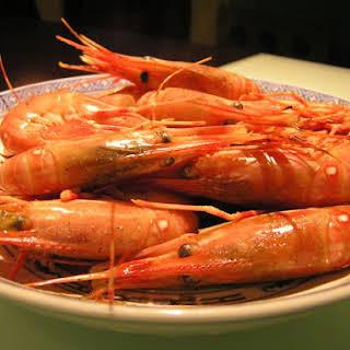 Drunken Shrimp.