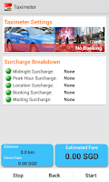 Screenshot of SG Cab Pro (Taxi Booking)