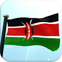 Kenya Flag 3D Free Wallpaper icon