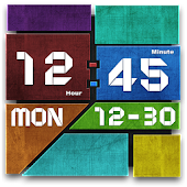 Graphics Clock Widget