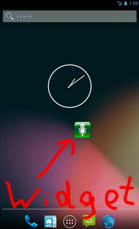 Ring by Voice - screenshot