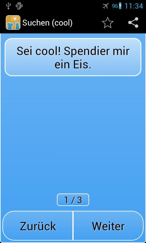 Freche Anmachsprüche - screenshot