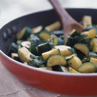 Zucchini with Olive Oil, Garlic and Basil
