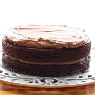 Unforgettable Chocolate Quinoa Cake.