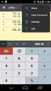 CalcTape Free Tape Calculator v1.2.3