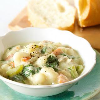 Olive Garden Chicken Gnocchi Soup (copycat).