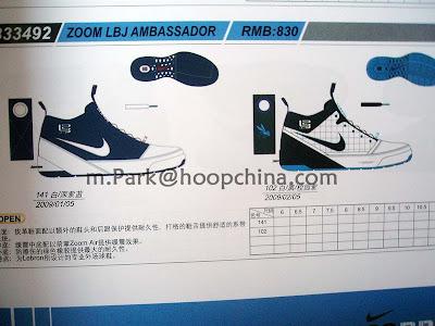 separation shoes 3c751 f196d More Information on the Nike Zoom LBJ Ambassador   NIKE LEBRON ...