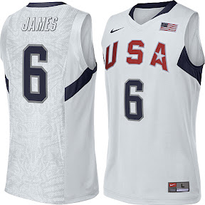 best loved ad01e e19f7 USA Basketball New Jerseys for the 2008 Olympics in Beijing ...