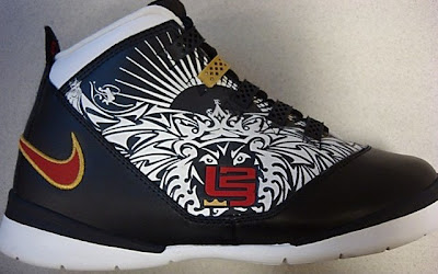 b789cfb20d6 Nike LeBron Zoom Soldier II - Olympic Lion Tattoo Edition Source  niketalk.com From Nike Zoom LeB…