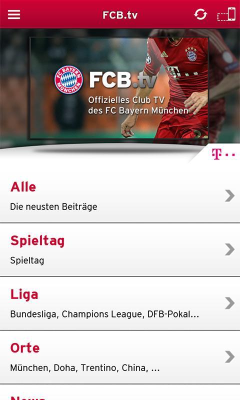 FC Bayern München - screenshot