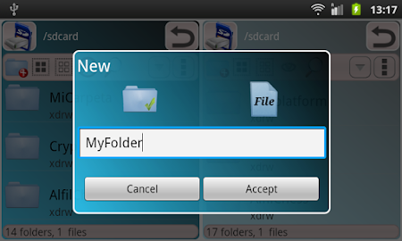 File Manager XplorApp 4.8 screenshot 28103