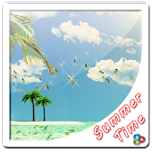 Summer Time Go Launcher  Theme